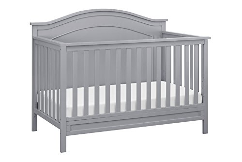 DaVinci Charlie 4-in-1 Convertible Crib, Grey by DaVinci