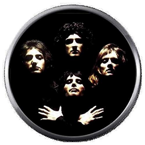 Freddie Mercury Queen II Album Cover Rock Band Members 18MM - 20MM Fashion Snap Jewelry Snap Charm