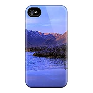 New Premium JuI21619hPuq Cases Covers For Iphone 6/ Nature Mountain With Reflection Protective Cases Covers