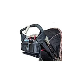 Best Stroller Organizer for Moms! Fits all Strollers, Zip off Pouch, Removable Shoulder Strap, Deep Cup Holders, Mesh Bag for Extra Storage! Superior Quality. 100% Lifetime Guarantee! BOBEBE Online Baby Store From New York to Miami and Los Angeles