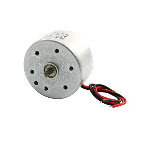Price comparison product image Uxcell DC 2V 3500RPM Car CD Player Micro Motor, 2mm Shaft Dia