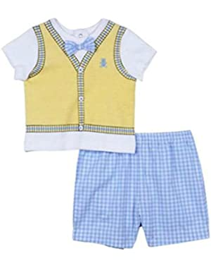 Baby Boys Bear Short Set