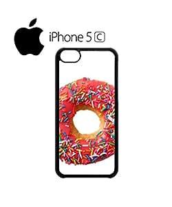 Odd Future Pink Doughnut Mobile Cell Phone Case Cover iPhone 5c Black