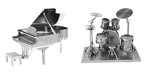 Fascinations Metal Earth Grand Piano 3D Metal Model Kit and