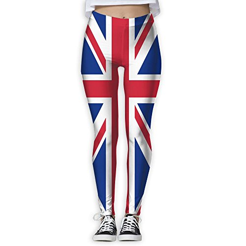 union jack leggings - 2