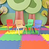 Flash Furniture 4 Pack Plastic Stackable School