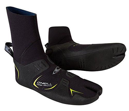 O'Neill Wetsuits  Mutant 6/5/4mm Internal Split Toe Booties,Black,10