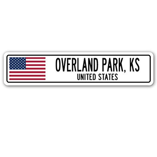 overland-park-ks-united-states-street-sign-american-flag-city-country-gift-2pcs