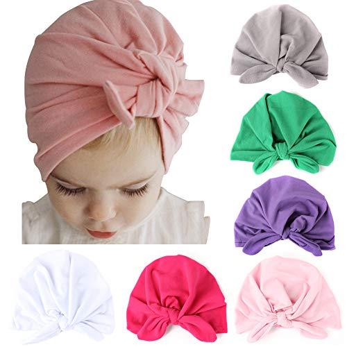 6Pcs Rabbit Ear Baby Girl Headband Elastic Headband for Girl Baby Headband,