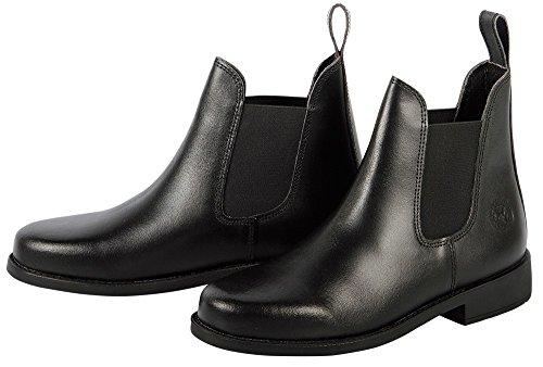 Noir Harry's En Femme Saint Cuir Horse Boots qwg4Y