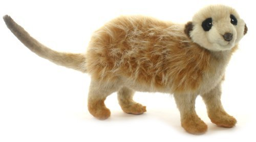 Plush Soft Toy Meerkat by Hansa. 30cm. 3704 by Hansa