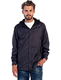 Men's Waterproof Lightweight Rain Jacket
