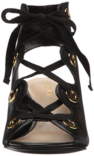 Nine West Women's Gaines Leather Pump Black NiHtGmV