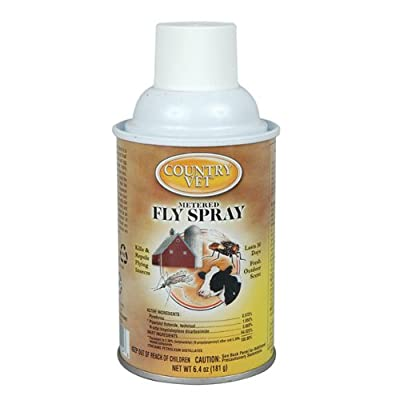 Country Vet Metered Fly Control Spray, Refill, 30 Day Supply