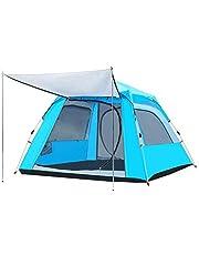 خيمة للرحلات ، أزرق فاتح ، بوليستر ، 240x240x155 سم
