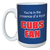Tree-Free Greetings lm44081 Cubs Baseball Fan Ceramic Mug with Full-Sized Handle, 15-Ounce