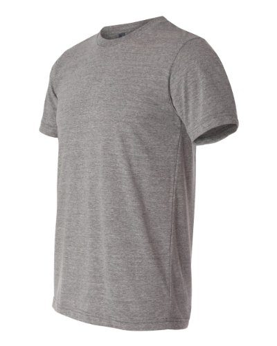 Men's Tri-blend Tee (Grey TriBlend) (Medium)