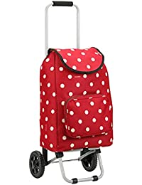 Shopping Trolley Folding Trolley Luggage Trolley Supermarket Portable Household Trailer (Color : B)