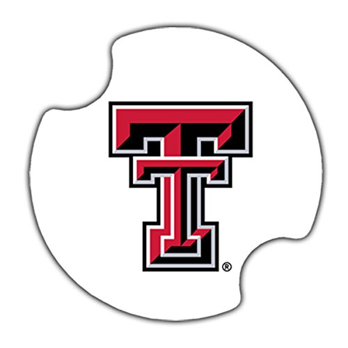 (Thirstystone Texas Tech University Car Cupholder Coaster, 2-Pack)