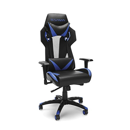 RESPAWN-205 Racing Style Gaming Chair -  Ergonomic Performance Mesh Back Chair, Office or Gaming Chair (RSP-205-BLU) by RESPAWN