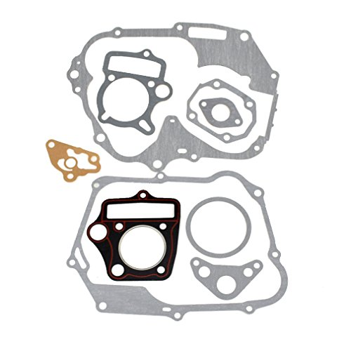 HIAORS Engine Head Cylinder Intake Gasket Set for 125cc 54mm Horizontal Engine Chinese Pit Dirt Bike Atv Parts (Best Chinese Pit Bike)
