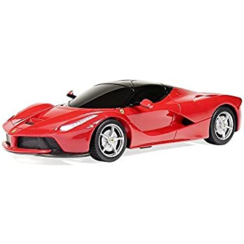 Amazoncom RASTAR Ferrari LaFerrari Radio Remote Control Sport - Red sports car