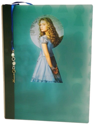 Disney Diary with Bookmark - Tea Party with Alice - Product has Alice and Talking Flower Watermark - 6.0