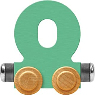 product image for Maple Landmark NameTrain Pastel Letter Car O - Made in USA (Green)