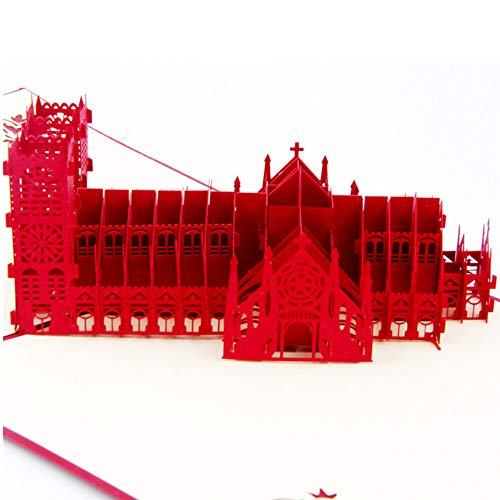Fusolo 3D Pop Up Cards, Westminster Church -