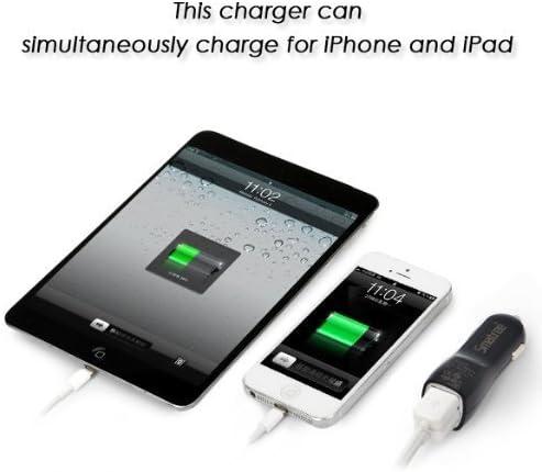 Custodia iPhone 5 / 5S con accendino USB ricaricabile-Black-Unica