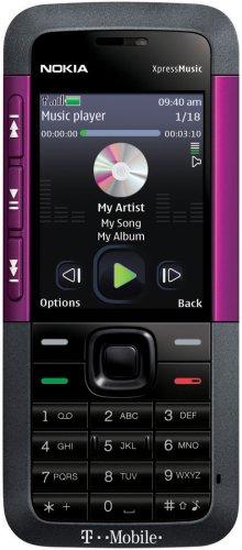 (Nokia 5310 XpressMusic Phone, Purple (T-Mobile))