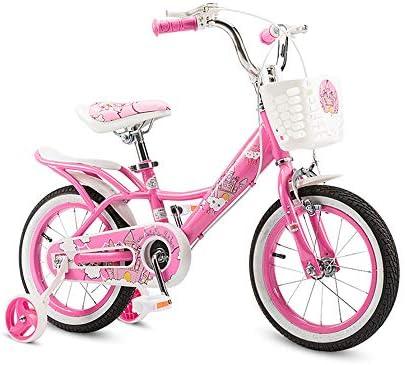 SELMAL Bicicleta Infantil para niñas con Ruedas de Entrenamiento y ...
