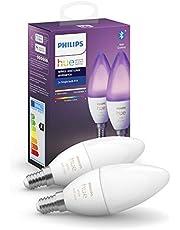 Philips Hue kaarslamp - wit en gekleurd licht - 2-pack