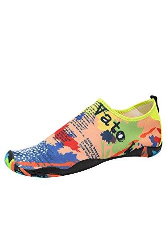 Socks Barefoot Women Aqua for Men Water Quick YACUN Colorful Dry Shoes Shoe 0qBR7xUT