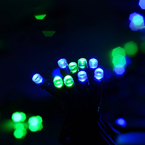 Qedertek Solar String Lights, 72 Ft 200 LED Waterproof Fairy - Import It All