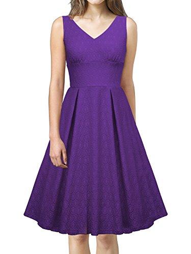 60s style lace wedding dress - 4