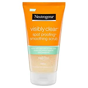 Neutrogena Visibly Clear Daily Scrub Cleanser, 150mL