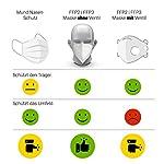 10x-FFP3-Atemschutzmaske-Zertifiziert-Made-IN-Germany-FFP3-Maske-Staubschutzmaske-Atemmaske-Staubmaske-10-Stck-verpackt-in-Aufbewahrungsbox-und-hygienischen-PE-Beutel