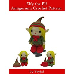 Elfy the Elf Amigurumi Crochet Pattern
