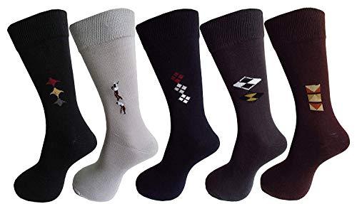 Stylebaby calf length socks for men solid color