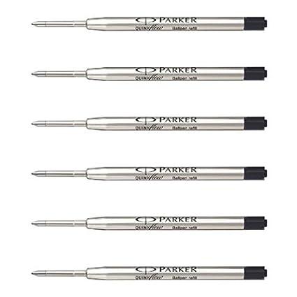 Amazoncom Parker Ball Point Pen Refills Medium Point Black Ink