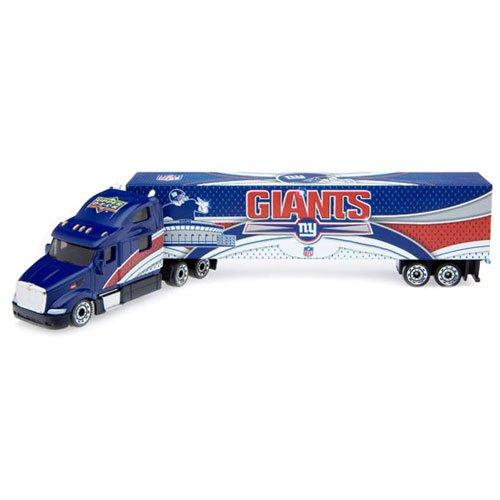 (2008 Upper Deck Collectibles NFL Peterbilt Tractor-Trailer - New York Giants Diecast NFL)