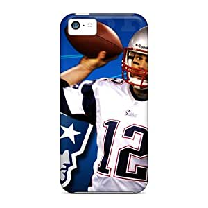 New Fashionable L.M.CASE XAy317IeYa Cover Case Specially Made For Iphone 5c(new England Patriots)