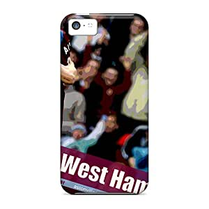 Forever Collectibles The Fc Of England Aston Villa Hard Snap-on Iphone 5c Case