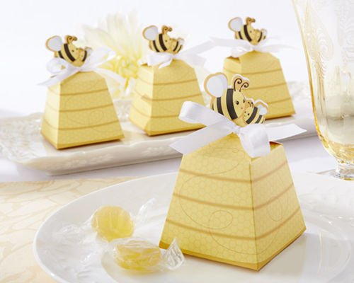 24 sweet as can bee mom and baby beehive baby shower favor boxes (Halloween Film Costume Ideas)