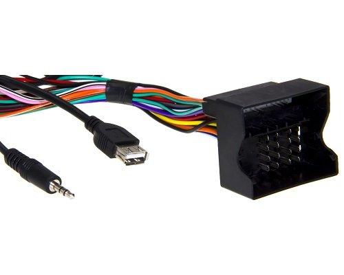 adapter-universe /® 5050/cavo adattatore USB AUX IN 3.5/mm jack Mmt cavo radio kit di installazione