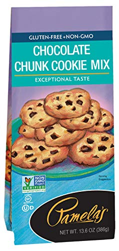 (Pamela's Products Gluten Free Cookie Mix, Chocolate Chunk, 13.6 Ounce Unit)