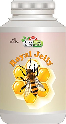 Royal Jelly, Powder, 6% 10-HDA - Free Shipping, - 1kg (2.2 lbs) by Lifeline Nutrients