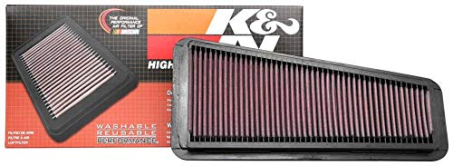 K&N engine air filter, washable and reusable:  2014-2019 Toyota Truck and SUV V6/V8 (Tundra, Tacoma, Sequoia) 33-5017 (Toyota Tacoma Fan Only Works On High)