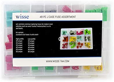 WISSE Replacement Fuse for Car Truck Motorcycles SUV Boats e